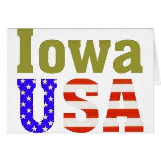 アイオワ米国! カード