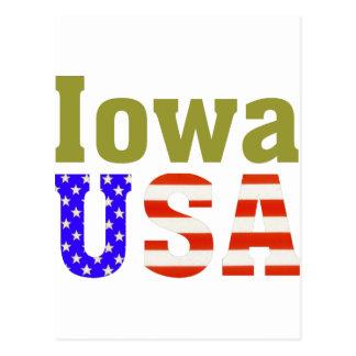 アイオワ米国! ポストカード