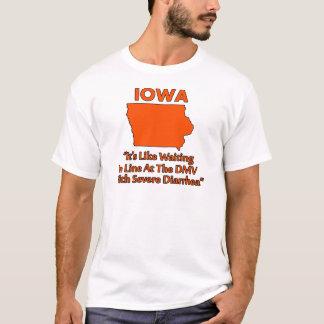 アイオワ- DMVで並んで待つことのような…… Tシャツ