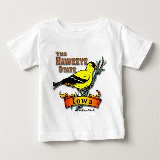 アイオワHawkeyeのフィンチ ベビーTシャツ