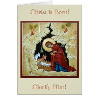 アイコンクリスマスカード カード