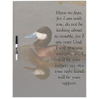 アイザイアの聖書の聖なる書物、経典のアカオタテガモの鳥板 ホワイトボード