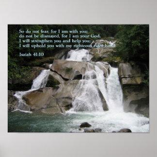 アイザイアの41:10の滝 ポスター