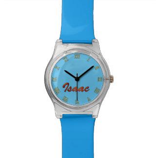 アイザックはカスタマイズ可能な腕時計のギフトを名前決め付けました 腕時計