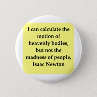 アイザックニュートンの引用文 缶バッジ