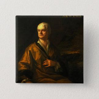 アイザックニュートン1710年 5.1CM 正方形バッジ