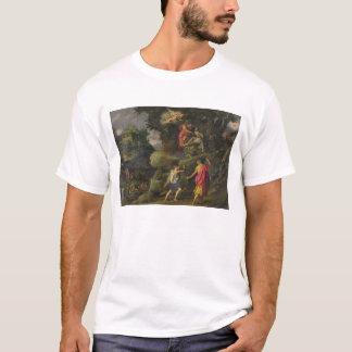 アイザック1601年の犠牲(パネルの油) Tシャツ