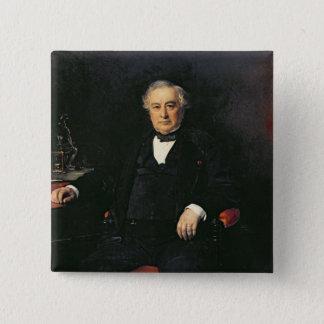 アイザックPereire 1878年 5.1cm 正方形バッジ