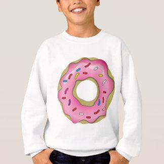 アイシングが付いているおいしいドーナツは振りかけ、 スウェットシャツ
