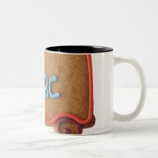 アイシングと飾られるクッキー ツートーンマグカップ