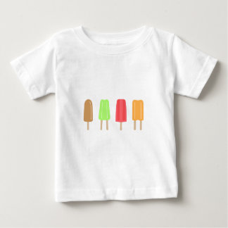 アイスキャンデーのティー ベビーTシャツ