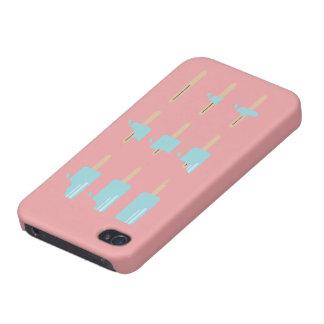 アイスキャンデーメッセージのIphoneの場合 iPhone 4/4S ケース