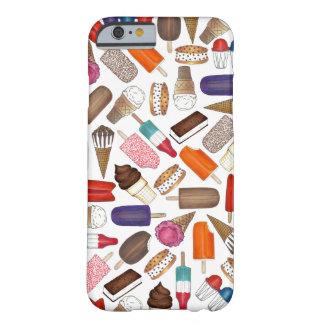アイスクリームおよびアイスキャンデーの夏の御馳走電話箱 BARELY THERE iPhone 6 ケース