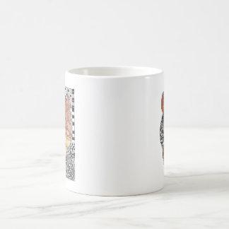 アイスクリームおよびドーナツのマグ コーヒーマグカップ