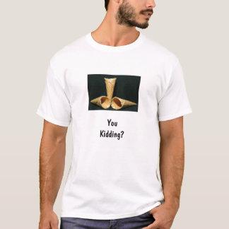 アイスクリームか。 Tシャツ