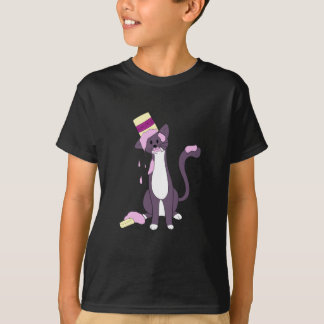 アイスクリームでカバーされる熱い混乱Taz Tシャツ
