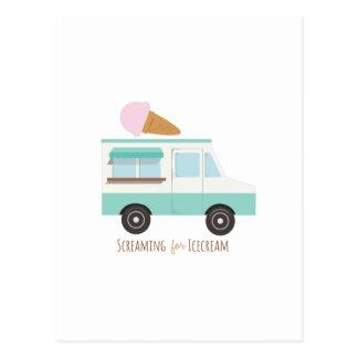 アイスクリームのために叫ぶこと ポストカード