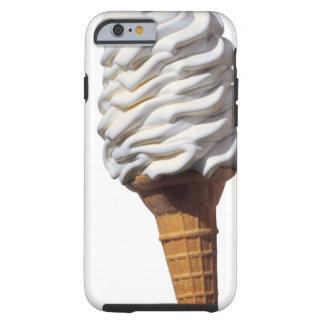 アイスクリームのクローズアップ ケース
