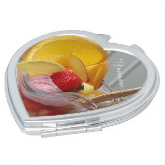 アイスクリームのサンデーのカスタムなモノグラムのポケット鏡