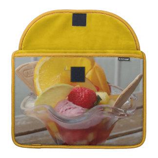アイスクリームのサンデーのMacBookの袖 MacBook Proスリーブ