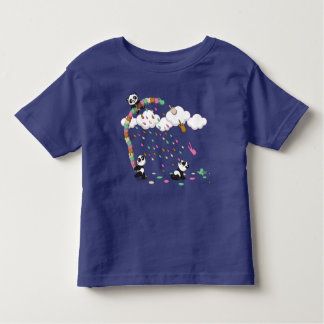 アイスクリームのシャワー トドラーTシャツ