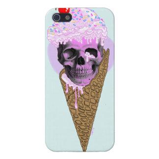 アイスクリームのスカル iPhone SE/5/5sケース