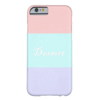 アイスクリームのデザートのiPhone6ケース Barely There iPhone 6 ケース