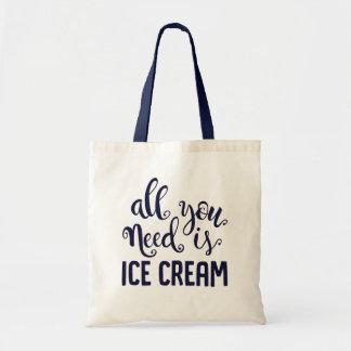 アイスクリームのトート トートバッグ