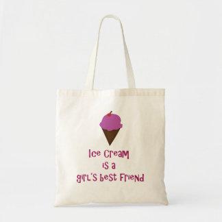 アイスクリームのバッグ トートバッグ