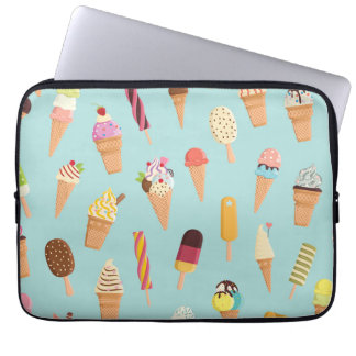 アイスクリームのパステル ラップトップスリーブ