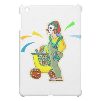 アイスクリームのピエロ iPad MINIカバー