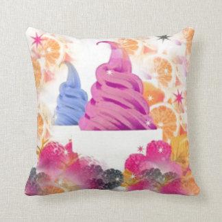 アイスクリームのフルーツの枕 クッション