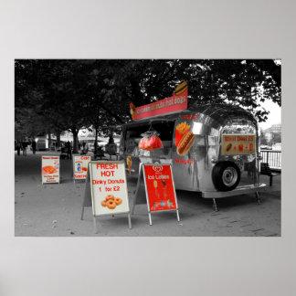 アイスクリームのホットドッグ ポスター