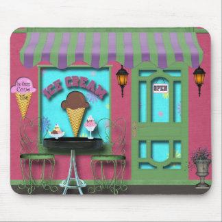 アイスクリームのマウスパッド マウスパッド