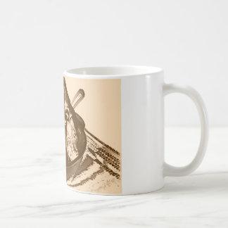 アイスクリームのヴィンテージ コーヒーマグカップ