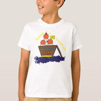 アイスクリームの土地の探検家 Tシャツ