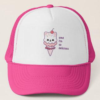 アイスクリームの子猫 キャップ
