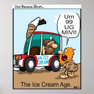 アイスクリームの年齢 ポスター
