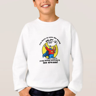 アイスクリームの救助のワイシャツ スウェットシャツ