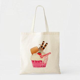 アイスクリームの楽園 トートバッグ