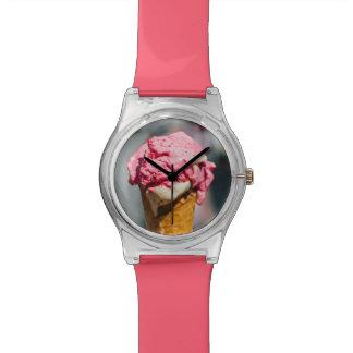 アイスクリームの腕時計 腕時計