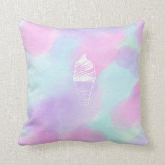 アイスクリームの装飾用クッション クッション