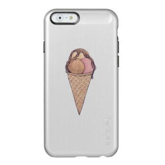 アイスクリームのiphoneの場合 incipio feather shine iPhone 6ケース