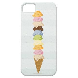 アイスクリームのiPhoneの場合 iPhone 5 Case