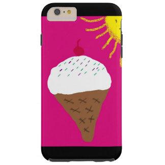 アイスクリームのiphoneの場合 tough iPhone 6 plus ケース