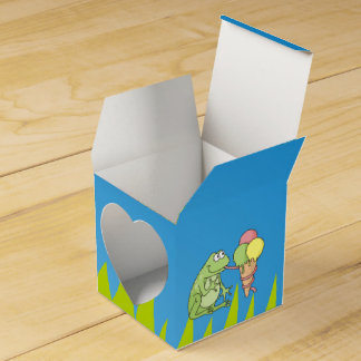 アイスクリームを持つカエル フェイバーボックス
