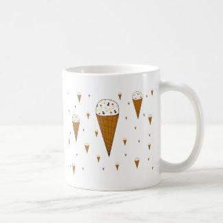 アイスクリームコーンのマグ コーヒーマグカップ