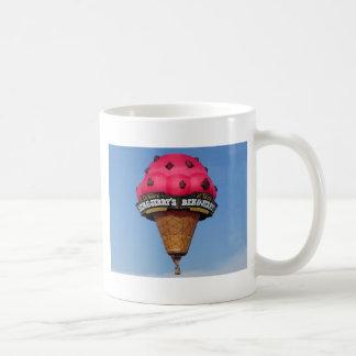 アイスクリームコーンの熱気の気球 コーヒーマグカップ