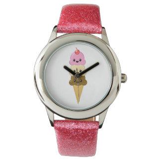 アイスクリームコーンの腕時計 腕時計