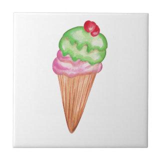 アイスクリームコーン タイル